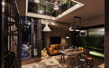 后现代风格70平米复式房子装饰效果图