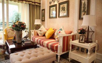地中海风格120平米3房1厅房子装饰效果图