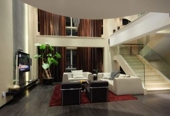 现代简约风格160平米别墅房子装饰效果图