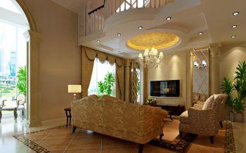 新古典风格180平米别墅房子装饰效果图