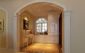 玄关门厅新古典风格效果图