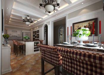 法式风格180平米别墅房子装饰效果图