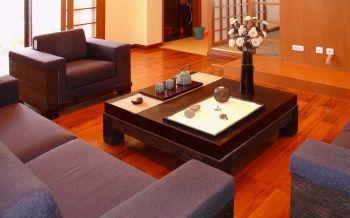 客厅地砖混搭风格装修设计图片