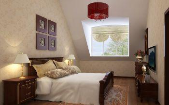 卧室灯具现代中式风格装修图片