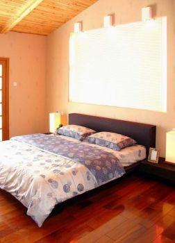 卧室黄色地板砖混搭风格效果图