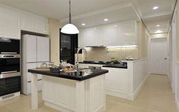 厨房厨房岛台欧式风格效果图