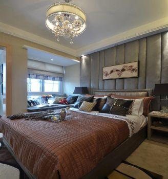 卧室灯具现代欧式风格装潢图片