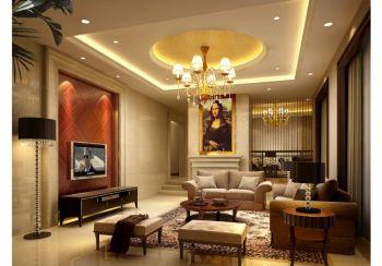 欧式风格150平米复式房子装饰效果图