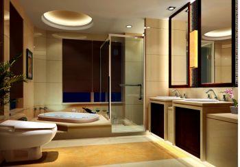 浴室浴缸欧式风格装修图片