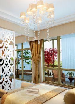 卧室灯具欧式风格装潢设计图片