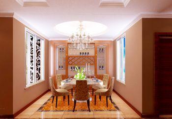 餐厅地板砖欧式风格装饰图片