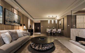 客厅沙发后现代风格装修图片