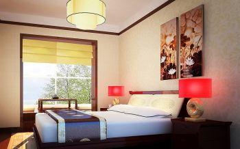 卧室灯具中式风格装饰效果图