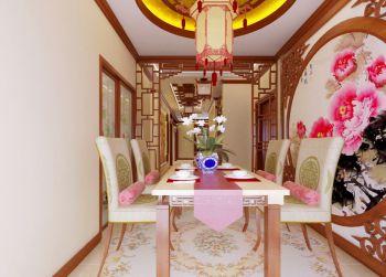 中式风格180平米别墅新房装修效果图