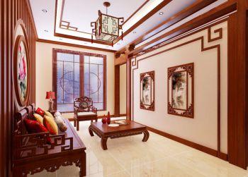 书房沙发中式古典风格装潢设计图片