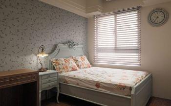 儿童房床头柜欧式田园风格装潢效果图