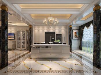 厨房窗帘欧式风格装饰设计图片