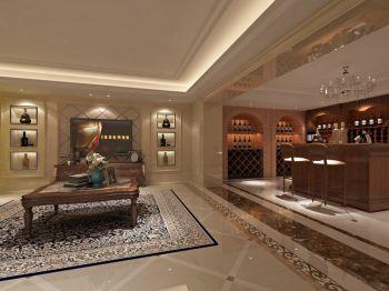 酒窖吧台欧式风格装修设计图片