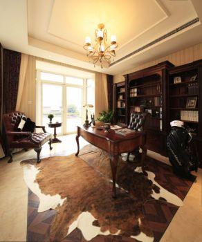 欧式风格180平米别墅新房装修效果图