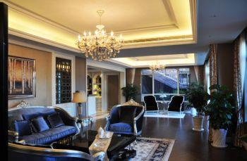 客厅灯具欧式风格装修设计图片