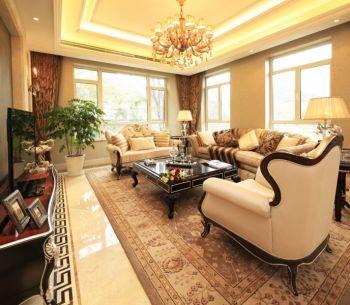 客厅灯具欧式风格效果图