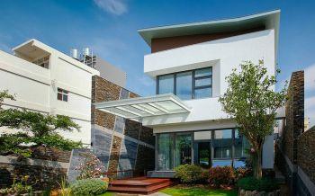现代风格150平米别墅新房装修效果图
