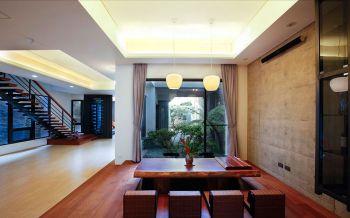 餐厅榻榻米现代风格装饰图片