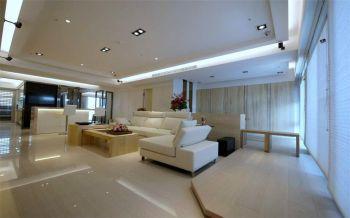 现代简约风格80平米两房两厅新房装修效果图