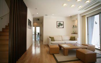 现代简约风格150平米别墅房子装饰效果图