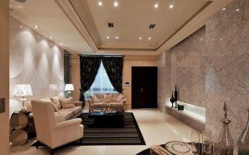 客厅窗帘新古典风格装饰设计图片