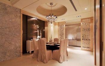 餐厅吊顶新古典风格装潢设计图片