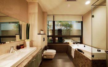 卫生间洗漱台新古典风格装饰效果图