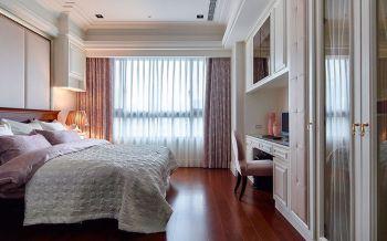 卧室窗帘现代欧式风格装潢设计图片