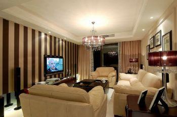 简欧风格风格150平米三房两厅新房装修效果图