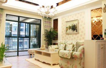 田园风格80平米2房1厅房子装饰效果图