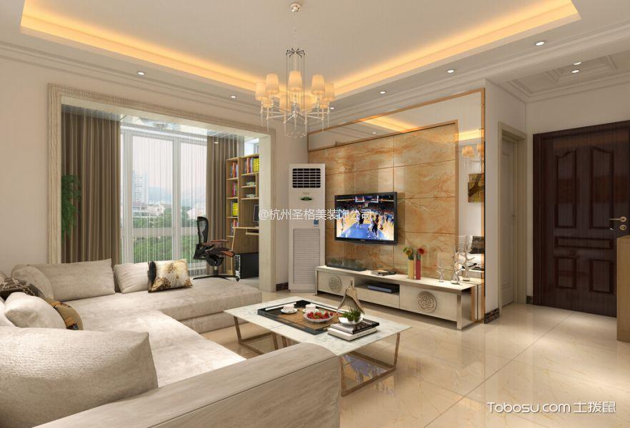 100㎡/现代简约/三居室装修设计
