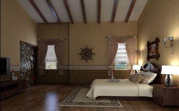 卧室地砖美式风格装修图片
