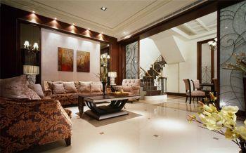 现代简约风格110平米复式新房装修效果图