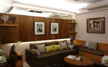混搭风格60平米套房新房装修效果图