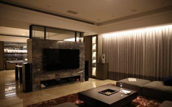 现代简约风格150平米3房1厅房子装饰效果图
