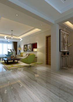 客厅门厅现代风格装潢设计图片