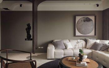 客厅沙发现代中式风格装饰效果图