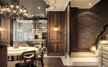 餐厅灯具混搭风格装饰图片