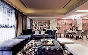 客厅沙发新古典风格装潢图片