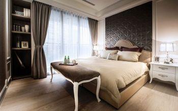 卧室窗帘新古典风格装潢设计图片