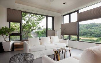 客厅沙发简约风格装潢效果图