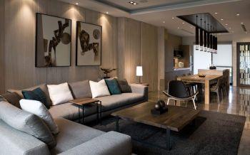 简约风格180平米复式房子装饰效果图