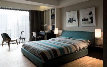 卧室照片墙简约风格效果图