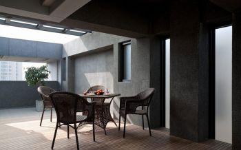 阳台地板砖简约风格装修效果图