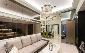 现代风格180平米复式新房装修效果图